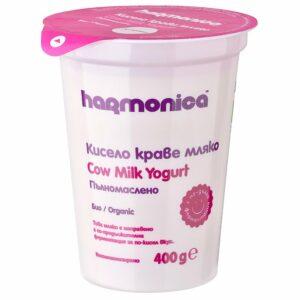 Био Кисело Мляко Harmonica Пълномаслено 400 гр