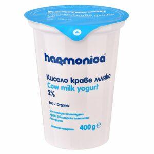 Био Кисело Мляко Harmonica 2% 400 гр