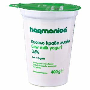 Био Кисело Мляко Harmonica 3.6% 400 гр