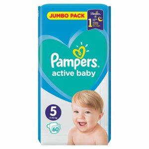 Пелени Pampers Jumbo Pack 5 Junior 11-18 кг