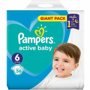Пелени Pampers Active Baby Giant Pack 6 13-18 кг 56 бр