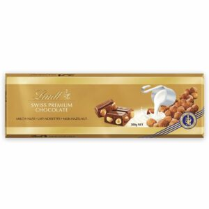 Lindt Gold Млечен с Лешник 300 гр