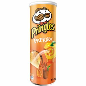 Чипс с Паприка Pringles 165 гр