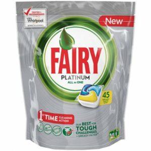 Таблетки за Съдомиялна Fairy Platinium 45 бр