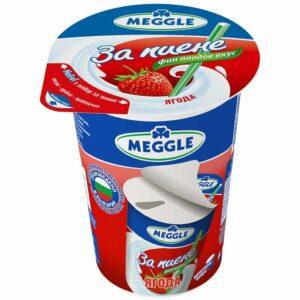 Млечнокисела Напитка с Вкус на Ягода Meggle 2.2% 300 гр