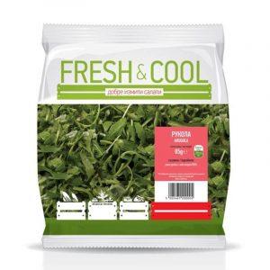 Рукола Пресни Листа Fresh & Cool 100 гр