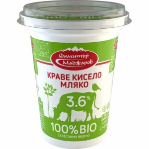 Био Краве Кисело Мляко Маджаров 3.6% 400 гр