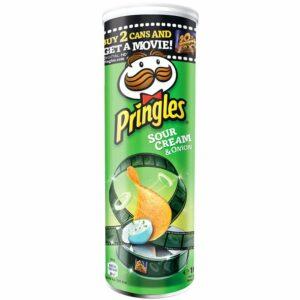 Чипс Сметана и Лук Pringles 165 гр