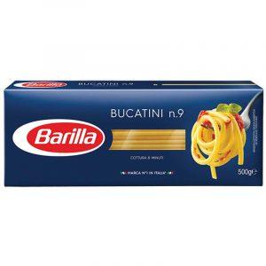 Спагети Букатини Номер 9 Barilla 500 гр
