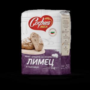 Брашно Микс за Печива Лимец и Пшеница София Мел 1 кг