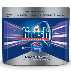 Таблетки за Съдомиялна Quantum Finish 18 бр