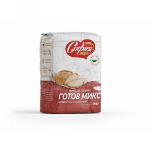 Брашно Готов Микс за Печива София Мел 1кг