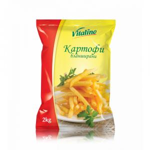 Замразени Бланширани Картофи Vitalino 2 кг