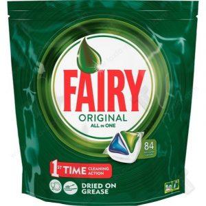 Таблетки за Съдомиялна ALL IN ONE Fairy 84 бр