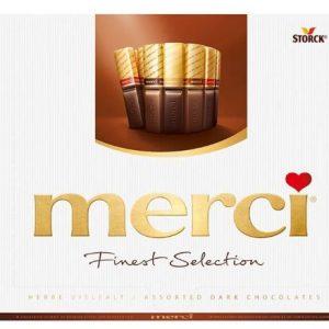 Бонбони Тъмен Шоколад MERCI 250 гр
