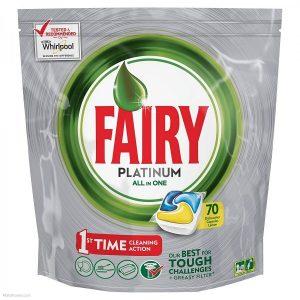 Таблетки за Съдомиялна Platinum Fairy 70 бр