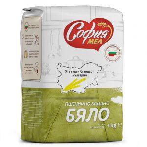 Брашно Бяло Утвърден Стандарт България София Мел 1 кг