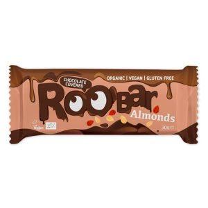 Био Протеинов Бар Бадемов с Шоколад Roobar 30 гр
