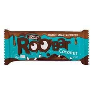 Био Протеинов Бар Кокосов с Шоколад Roobar 30 гр