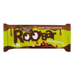 Био Протеинов Бар Лешников с Шоколад Roobar 30 гр