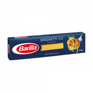 Спагети 100% Пълнозърнести Номер 5 Barilla 500 гр
