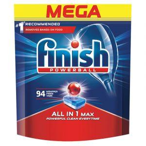 Таблетки за Съдомиялна All In 1 Max Finish 94 бр