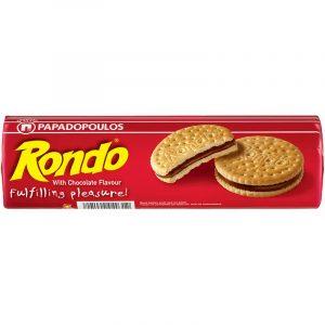 Бисквити Papadopoulos Рондо Шоколад 250 гр