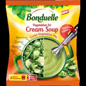Замразен Микс Крем Супа от Зеленчуци Bonduelle 400 гр