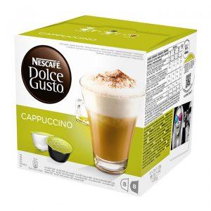 Кафе Капсули Cappuccino Dolce Gusto Nescafe 16 бр