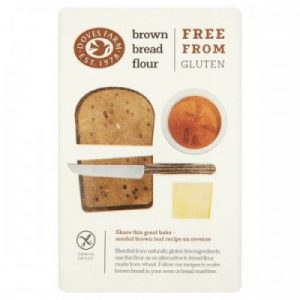 Брашно За Черен Хляб Без Глутен Doves Farm 1 кг
