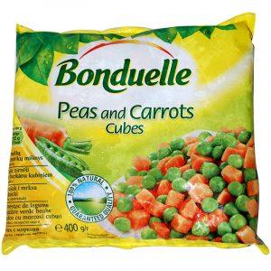 Замразен Грах и Моркови Bonduelle 400 гр