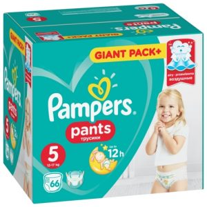 Пелени Giant Pack Pampers 66 бр