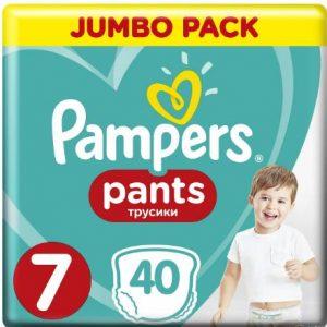 Пелени Jumbo Pack Pampers 40 бр