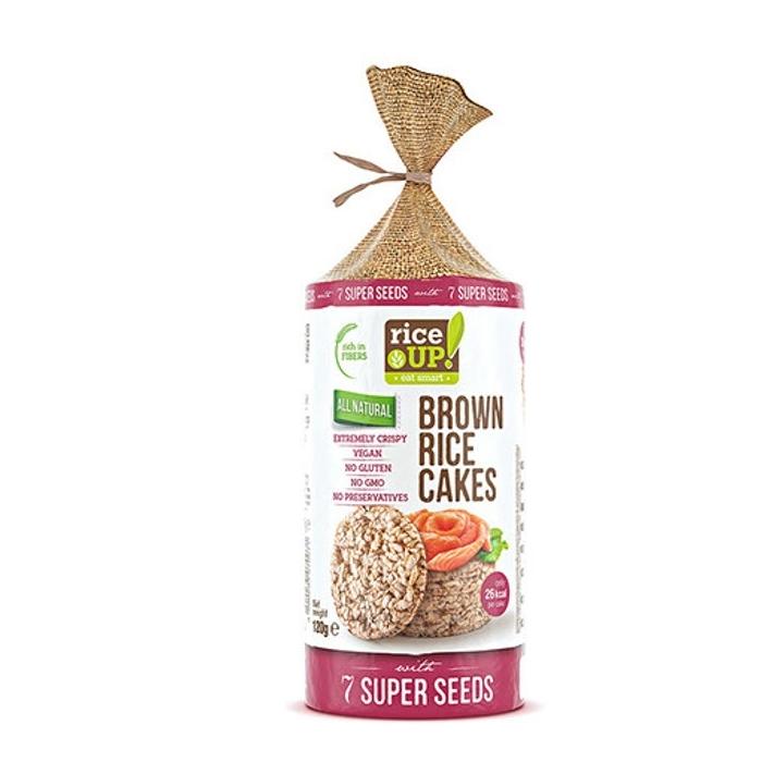 Оризови Бисквити Със 7 Супер Семена Rice Up 120 гр