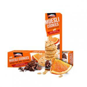 Бисквити Мюсли с Портокал и Тъмен Шоколад Боровец 110 гр