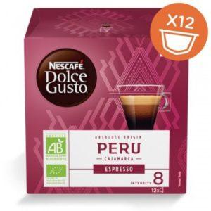 Био Кафе Капсули Peru Dolce Gusto Nescafe 12 бр