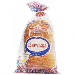 Нарязан Хляб Добруджа Утвърден Стандарт Елиаз 650 гр