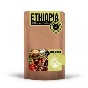 Био Кафе На Зърна Ethiopia Bianchi Origins 250 гр