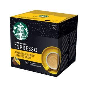 Кафе Капсули Blonde Espresso Roast Starbucks 12 бр