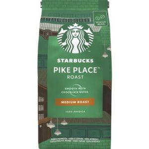 Кафе На Зърна Pike Place Medium Roast Starbucks 200 гр