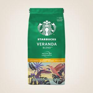 Кафе На Зърна Veranda Blend Blonde Roast Starbucks 200 гр