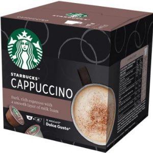 Кафе Капсули Cappuccino Starbucks 12 бр