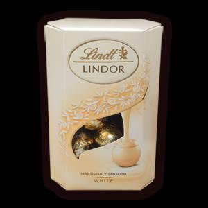 Бонбони Бял Шоколад Корнет Lindt Lindor 200 гр