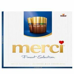 Бонбони С Млечен Шоколад Merci 250 гр