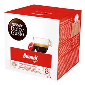 Кафе Buondi Dolce Gusto Nescafe 16бр