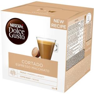 Кафе Cortado Espresso Macchiato Dolce Gusto Nescafe 16бр