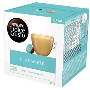 Кафе Flat White Dolce Gusto Nescafe 16бр