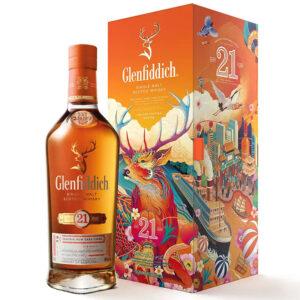 Уиски Glenfiddich 21 YO 700мл Chinese New Year 2021