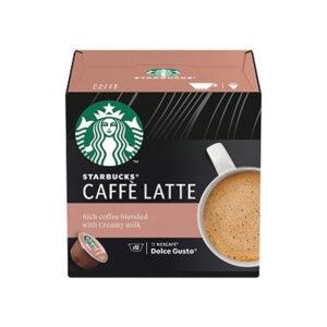 Кафе Капсули Caffe Latte Starbucks 12бр
