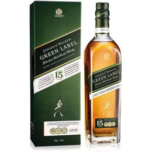 Уиски Johnnie Green Label 700мл
